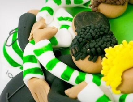 Sports Huddle Cake