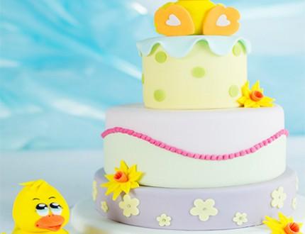 Cute Duck Cake