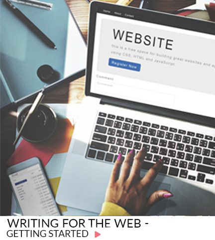 Writing for the web – Getting Started