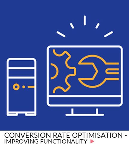 Conversion rate optimisation – Improving functionality
