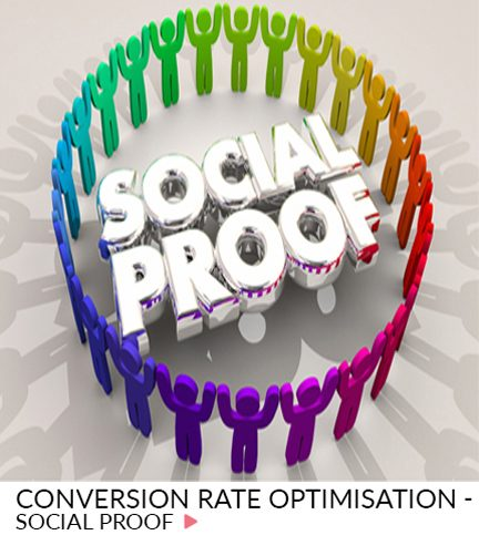 Conversion rate optimisation – Social proof
