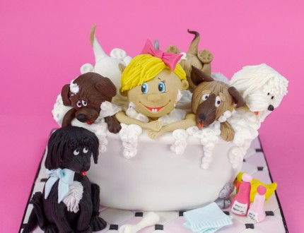 PICTURE OF BATH TIME CAKE