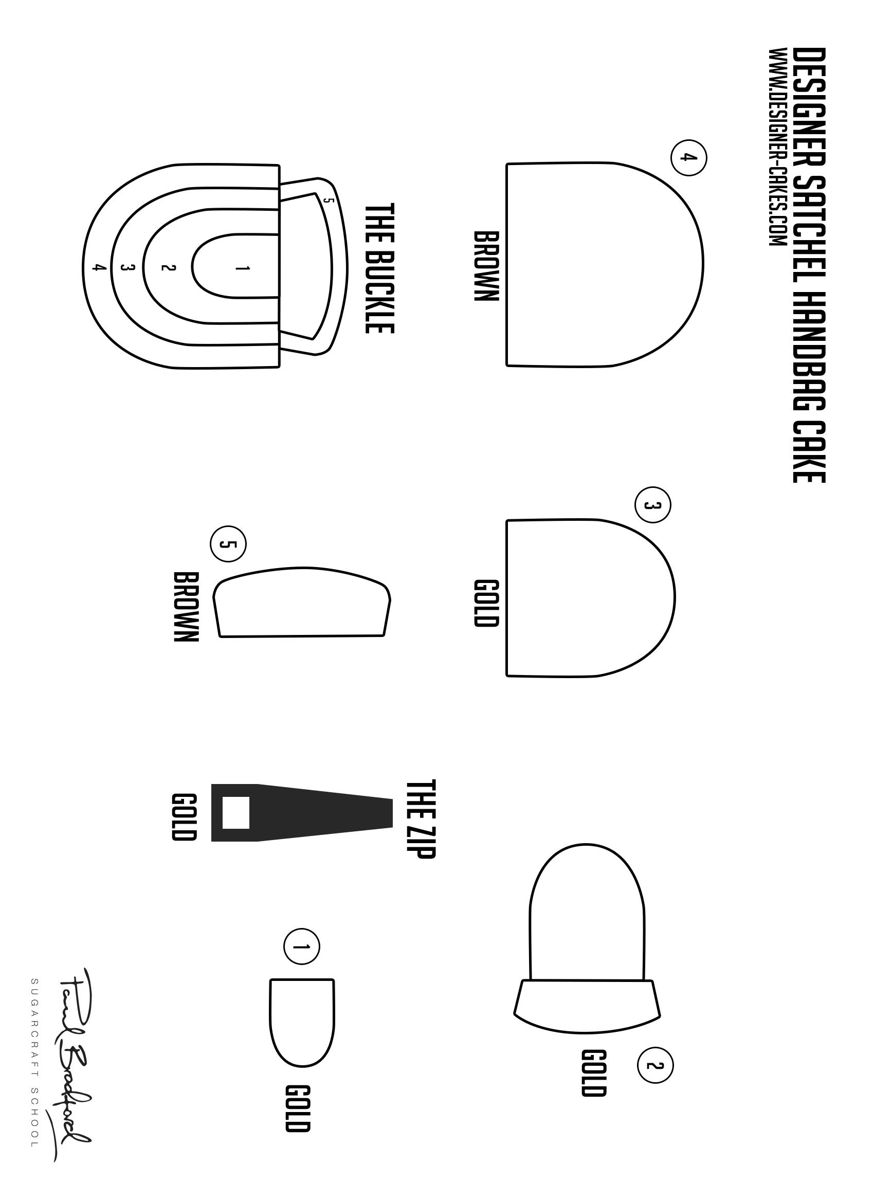Jpg Flapback Designer Handbag Template