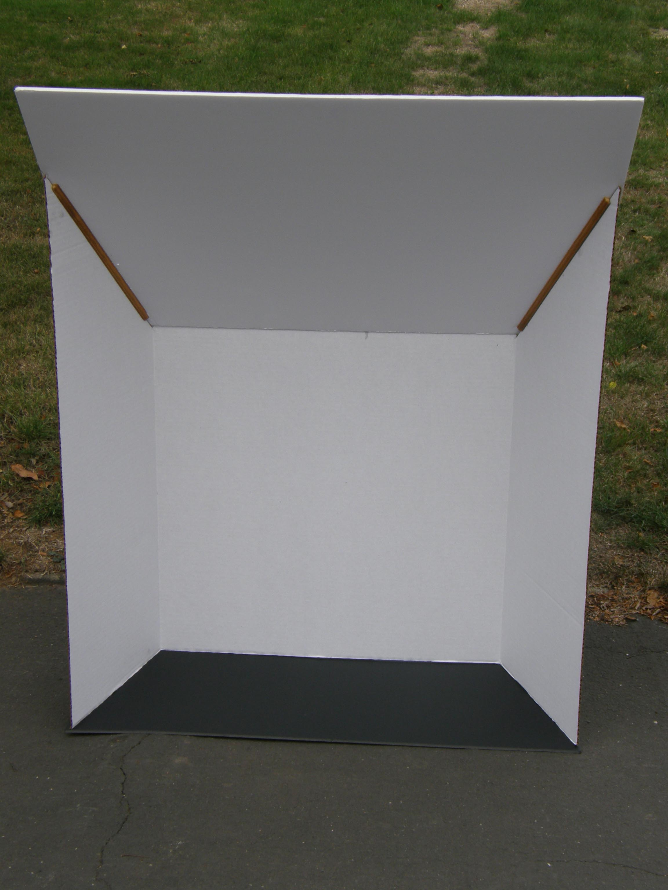 D. Photo Booth front view