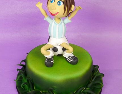 Footballer Cake