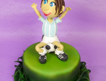 Picture of edible football player