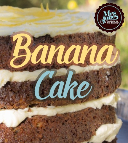 Mrs Jones' Banana Cake