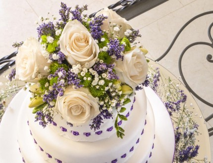 Cakes With Ribbon Insertion