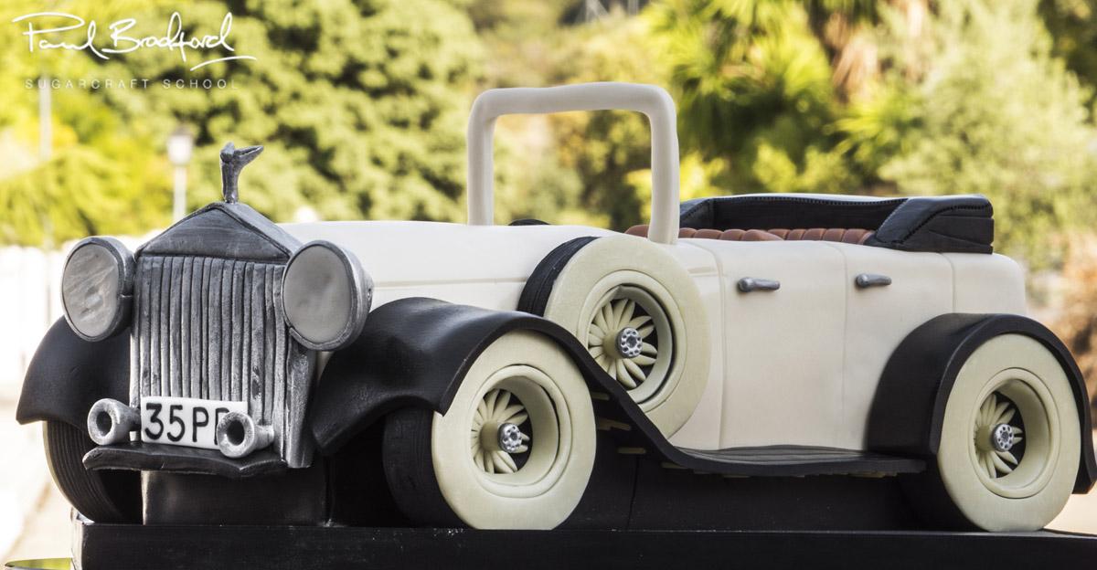 Vintage Car - CakeFlix