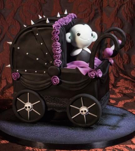 Baby Vampire Cake