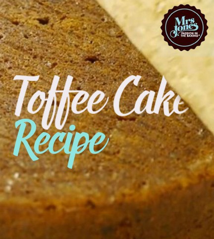Toffee Cake Recipe