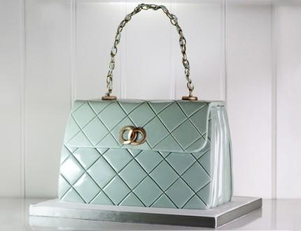 Quilted Designer Handbag Cake
