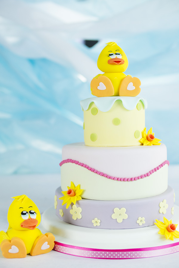 cute duck cake cakeflix