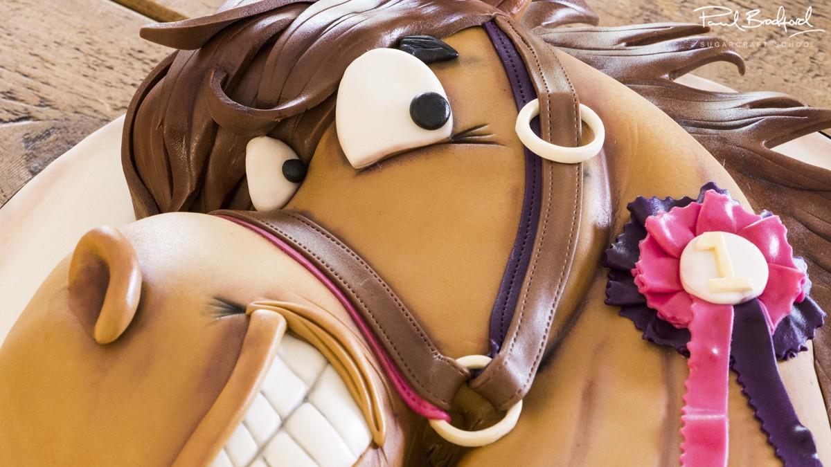 Horse Cake Cakeflix