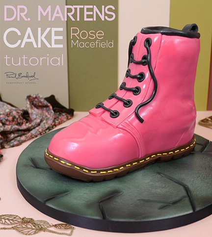 Dr Martens Boot Cake
