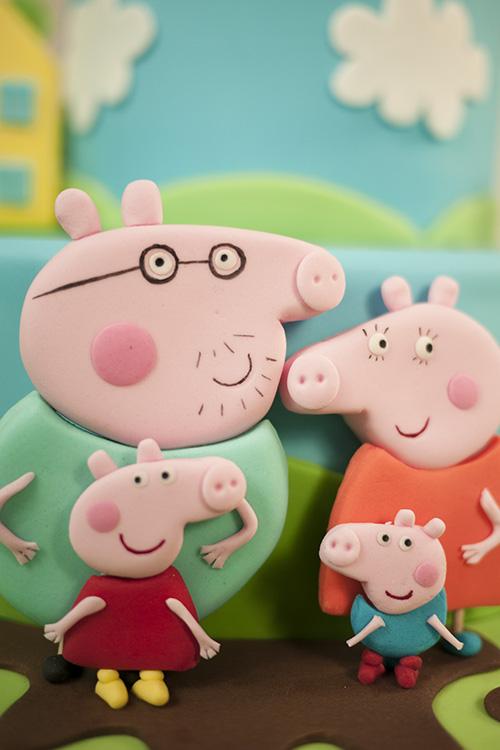 Cartoon Pig Cake Cakeflix