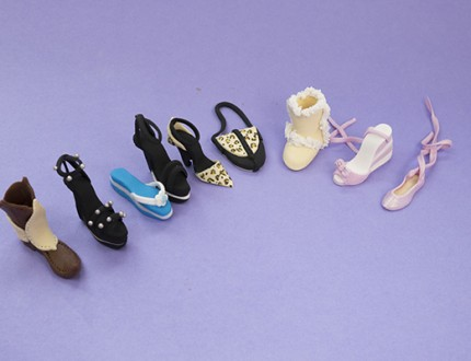 Mini Shoe Models