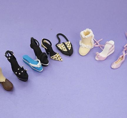 Mini Shoe Models