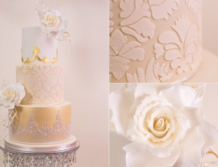 Golden Damask Rose Wedding