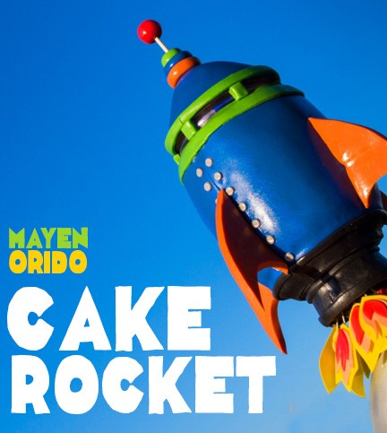 How to Make a Rocket Cake
