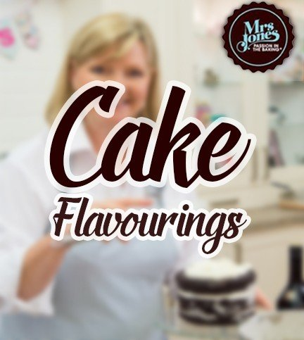 Cake Flavourings with Mrs Jones