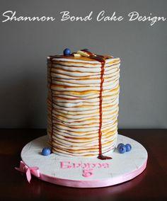 food inspired cake pancakes