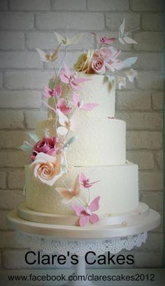 Butterfly Decorations on Cakes