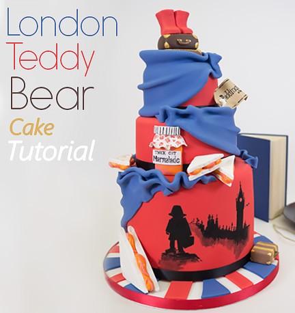 London Bear Cake
