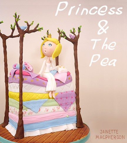 The Princess and the Pea Cake