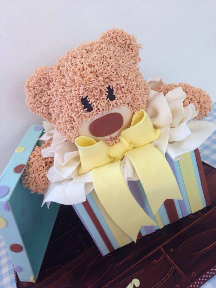 anne kaza teddy bear cake
