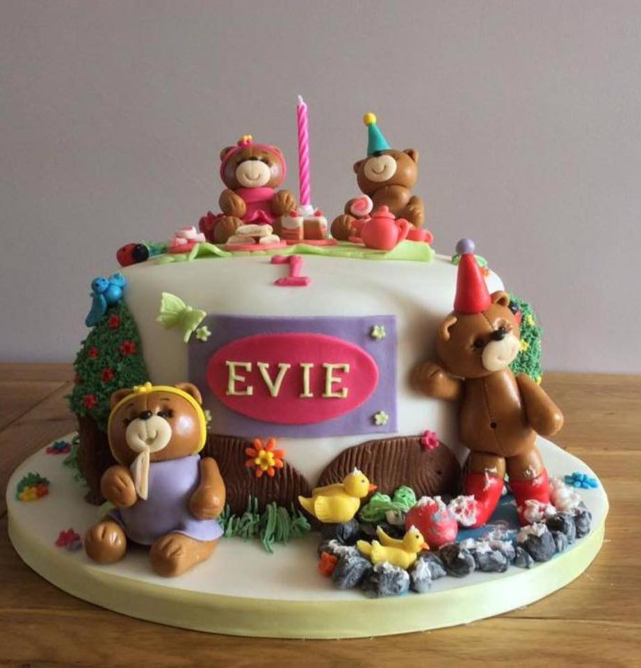 cakehouseonthelane teddy bear cakes