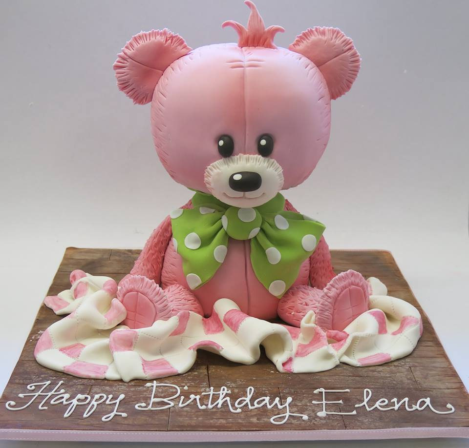 dawn woolnough teddy bear cakes