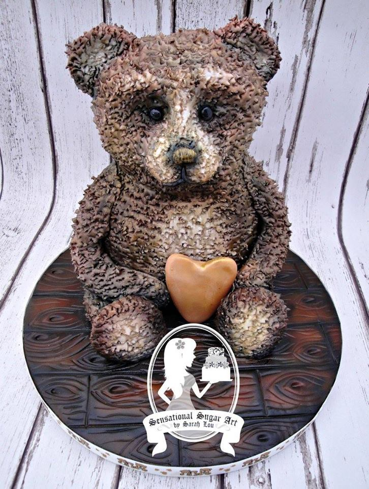 sensational sugar art by sarah lou teddy bear cakes
