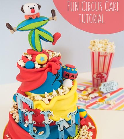 Fun Circus Cake