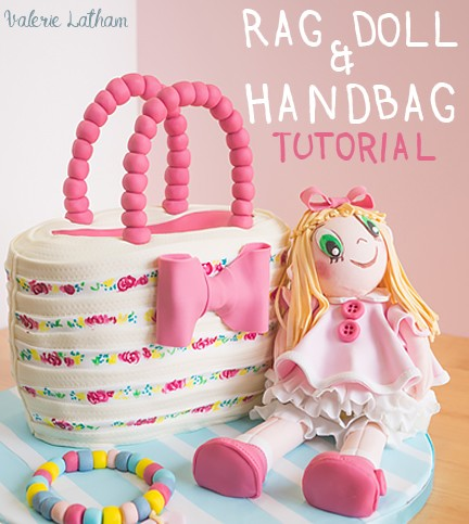 Rag Doll and Handbag Cake