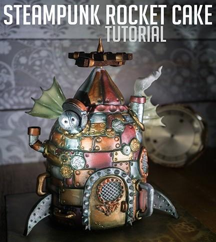 Steampunk Rocket Ship