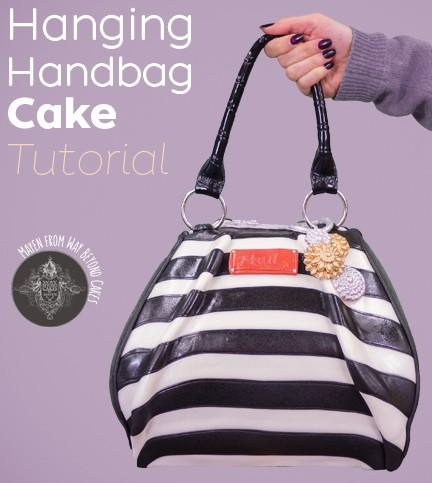 Hanging Handbag Cake