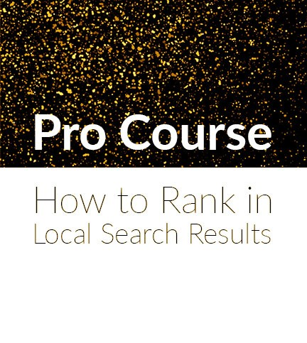 Pro: Online Marketing – How to Rank in Local Search Results