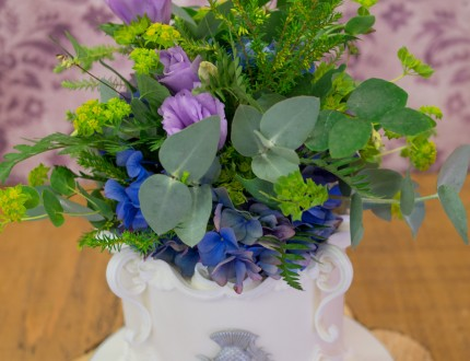 Close up of flower arrangment