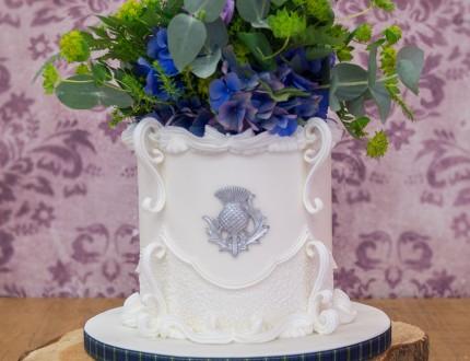 Picture or Robert Burns Cake