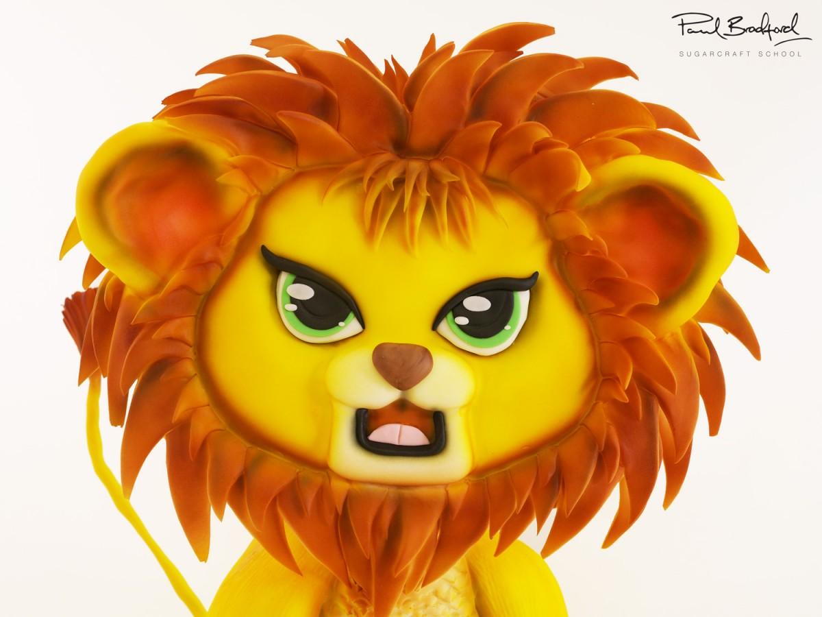 Lion Cub Cake Cakeflix