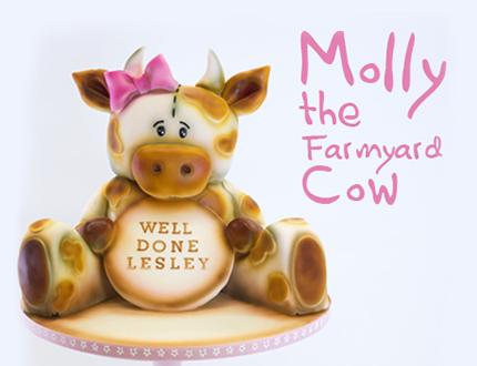 Molly the Farmyard Cow