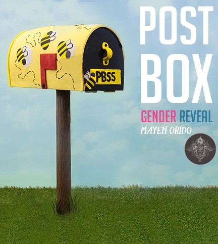 Post Box Gender Reveal