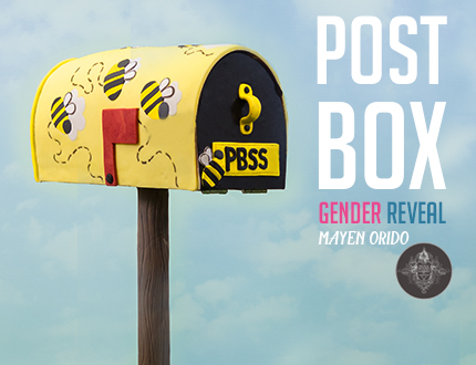 Post Box Gender Reveal