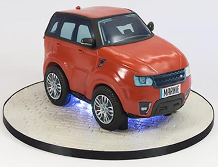 Range Rover Cake