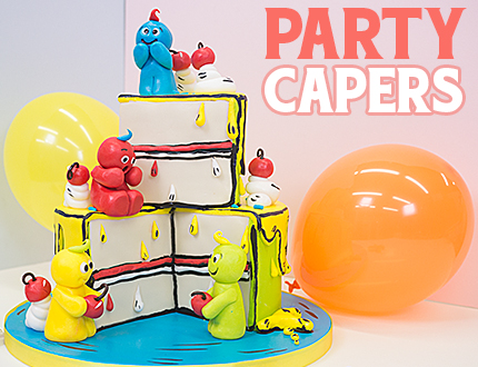 Party Capers Cake