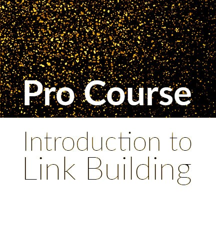 Pro Lesson – Introduction to link building