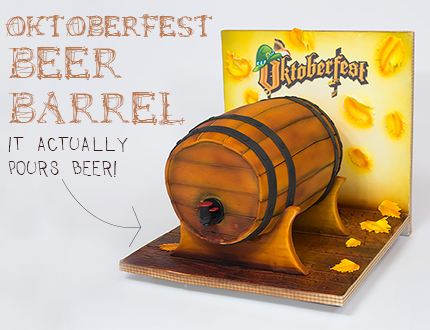 Oktoberfest Beer Barrel
