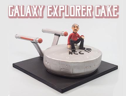 Galaxy Explorer Cake