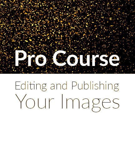 Pro course – Editing and Publishing your Images